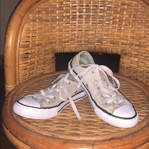 Girls Converse shoes size 1